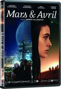 Pochette DVD du film Mars et Avril (Films Séville)