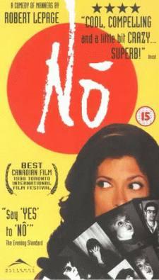 Jaquette de la VHS du film Nô de Robert Lepage