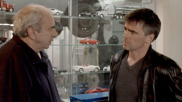 Julien Poulin et Patrice Godin dans le film québécois Rédemption