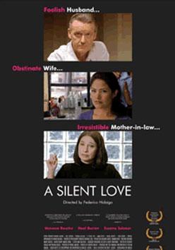 Affiche du film A silent love de Federico Hidalgo (source Atopia)