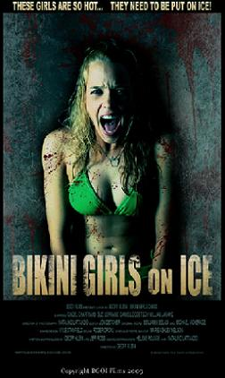 Affiche du slasher québécois Bikini Girls on Ice