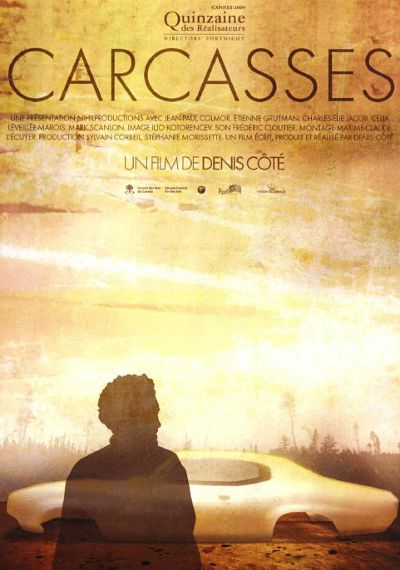 Affiche du film Carcasses (Denis Côté, nihilproductions, 2009)