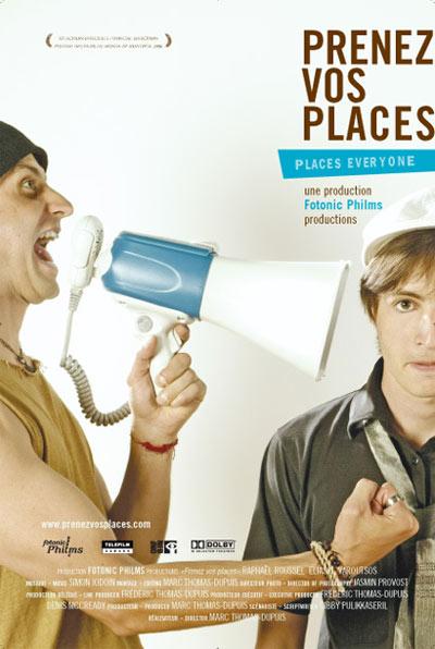 Affiche de la comédie québécoise Prenez vos places