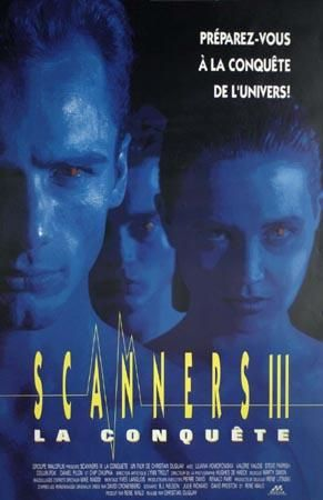 Affiche du film Scanners III (Christian Duguay - Coll. Cinémathèque Québécoise)