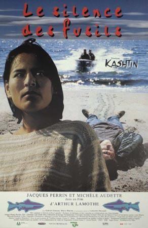 Affiche du film Le silence des fusils de Arthur Lamothe (1996 - Coll. Cinémathèque québécoise)
