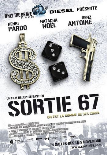 Affiche alternative du film Sortie 67 de Jephté Bastien (2010, Atopia)