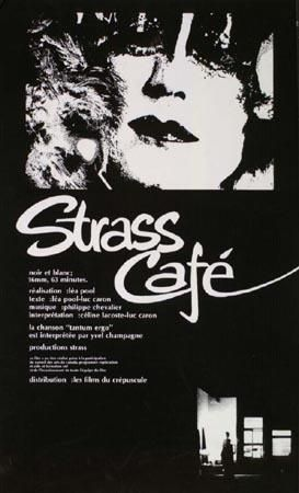 Affiche du film Strass Café de Léa Pool (Coll. Cinémathèque québécoise)