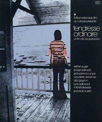 Affiche du film Tendresse ordinaire de Jacques Leduc