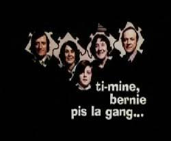 Visuel du film Ti-mine, Bernie pis la gang, réalisé par Marcel Carrière