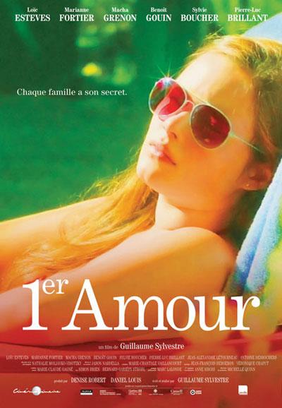 Affiche du film 1er Amour (G. Sylvestre, 2013 - Alliance/Séville)