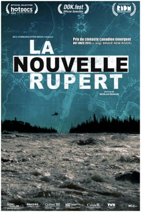 Affiche du documentaire québécois La Nouvelle Rupert