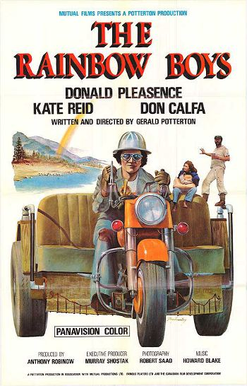 Affiche du film The Rainbow Boys de Gerald Potterton (Source: moviecovers)