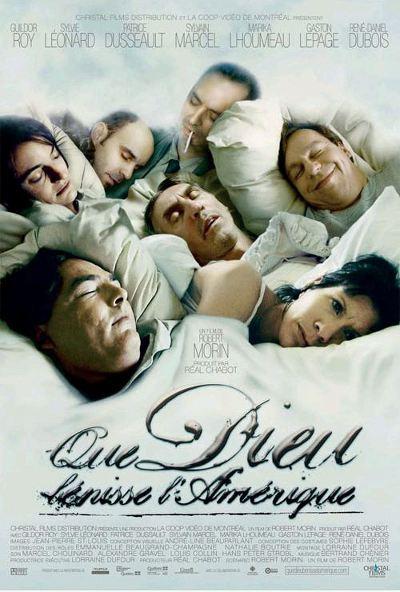 Affiche du film Que Dieu bénisse l'Amérique ( Morin, 2005)