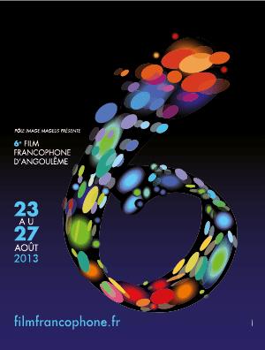 Affiche du Festival du film francophone d'Angoulème 2013