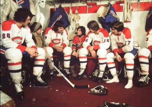 The Mystery of the Million Dollar Hockey Puck (image promotionnelle avec le Canadien de Montréal)