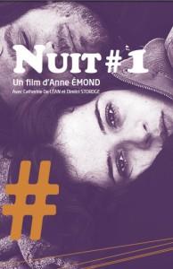 Couverture du dossier de presse français du film Nuit #1 d'Anne Émond