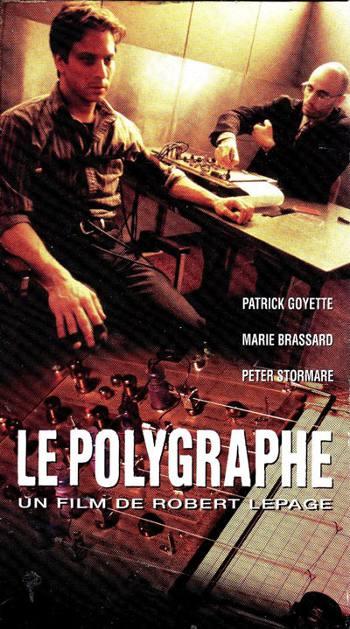 Image de la jaquette de la VHS originale du film Le Polygraphe