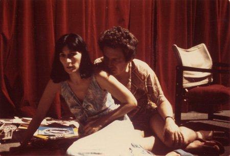 Image tirée du film: Monique Miller et Claude Jutra dans le film Pour le meilleur et pour le pire (1975)
