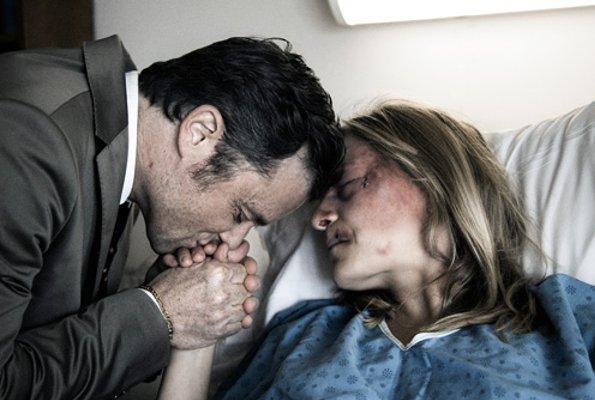 Évelyne Rompré et Marc Béland dans 2 fois une femme de François Delisle (2010, Films 53/12 - Funfilm)