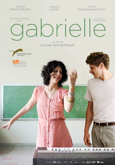 Affiche du film Gabrielle (Louise Archambault, 2013 - micro_scope, Films Christal)