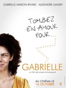 Affiche française du film Gabrielle (Louise Archambault, 2013)