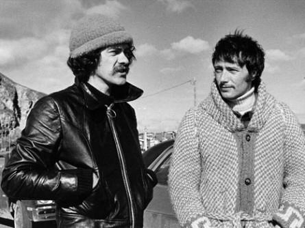 Jean-Guy Noël et Gilbert Sicotte - Ti-cul Tougas - 1976 (photo Daniel Kieffer)