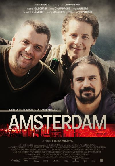 Affiche du film Amsterdam (Stefan Miljevic, 2013 - Attraction Média - Films Séville)