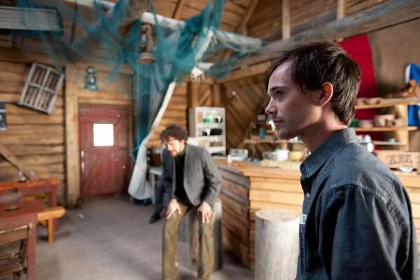 Charles-Alexandre Dubé (Francis Simard) dans La maison du pêcheur d'Alain Chartrand