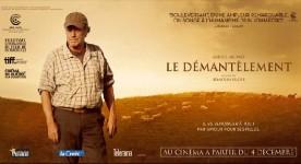 Bannière promotionnelle française du film Le démantèlement (©Sophie Dulac Distribution)