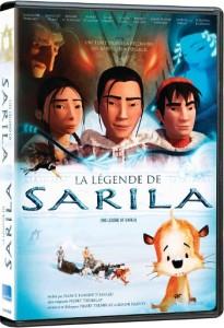 Pochette DVD du film La légende de Sarila (©eOne Entertainement)