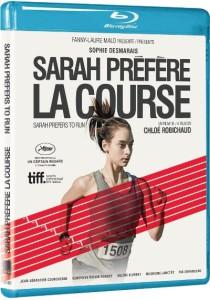 Pochette Blu-ray du film Sarah préfère la course (Chloé Robichaud, 2013 - Films Séville)