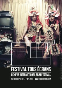 Affiche du Festival Tous Ecrans 2013