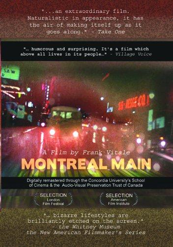 Pochette DVD du film Montral Main (F. Vitale, 1974)