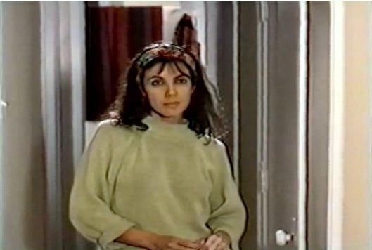Carole Laure dans La nuit avec Hortense (Jean Chabot)