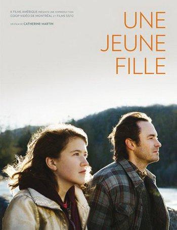 Pochette DVD du film Une jeune fille (Catherine Martin, 2013 - K-Films Amérique)