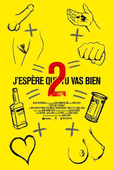 Affiche non censurée du film J'espère que tu vas bien 2