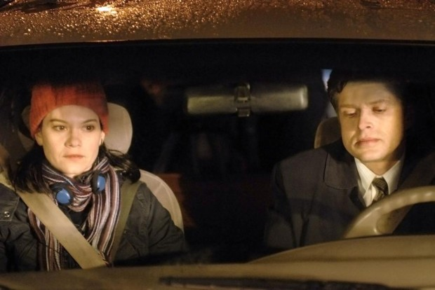 Fanny Mallette et Réal Bossé dans CONTINENTAL, UN FILM SANS FUSIL, 2007. ©Christal Films