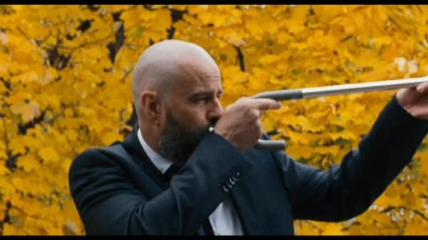 Laurent Lucas dans Le militaire de Noël Mitrani (©Gapian Films)
