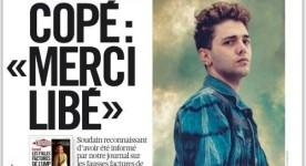La une du quotidien Libération (23 mai 2014) Xavier Dolan en couverture!