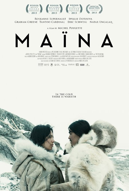 Affiche canadienne du film Maïna (©Union Pictures)