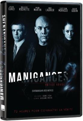 Pochette DVD du film extrait de la série web Manigances : Notice rouge