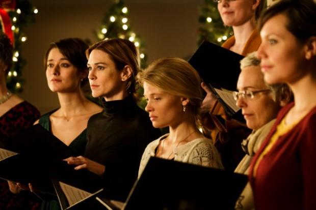 La scène de la messe de minuit dans le film Le règne de la beauté (©Cinémaginaire).