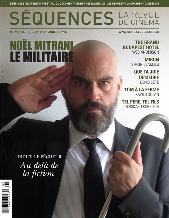 Image de la couverture de la Revue Séquences 290 (Le militaire de Noël Mitrani)