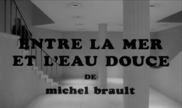 Entre la mer et l'eau douce de Michel Brault. Une production Coopératio (Pierre Patry)