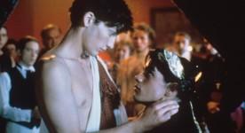 Jason Cadieux et Danny Gilmore (g.) dans Lilies (Les Feluettes)