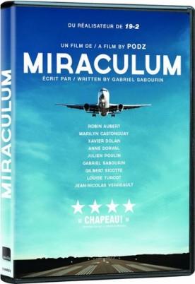 Pochette DVD du film Miraculum (©Films Séville)