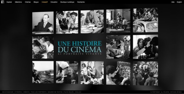 Visuel de l'accueil du site Portraits vivants de l'ONF
