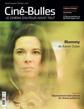 Couverture du numéro d'été 2014 de la revue Ciné-Bulles
