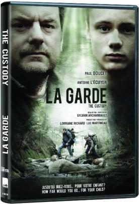 Pochette DVD du film La garde de Sylvain Archambault (©Films Séville)
