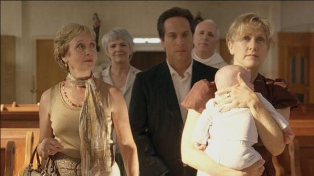 Photo de Louise Turcot (g.), Patrick Goyette (c.) et Suzie LeBlanc (d.) dans Lost Song de Rodrigue Jean